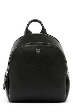 MCM 'Mini Duchess' Leather Backpack. #mcm #bags #leather #backpacks #