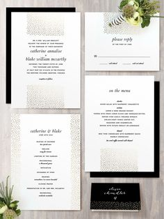 Delicate dots foil-pressed wedding invitations from @minted  http://www.minted.com/product/foil-pressed-wedding-invitations/MIN-OU7-IFS/delicate-dots?org=photo