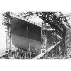 constructing the Titanic