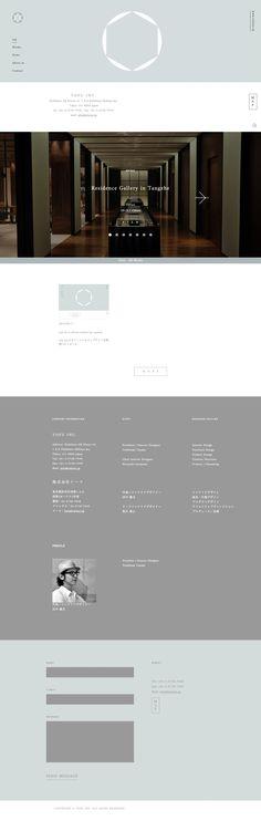 TOFU INC. #webdesign #simple