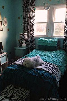 tween room, wall color