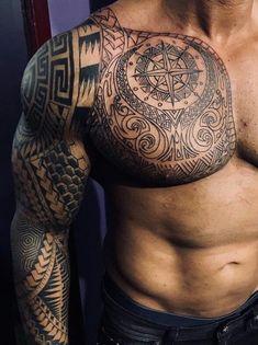 Marquesan tattoos – Tattoos And Tribal Tattoos For Men, Tribal Sleeve Tattoos, Japanese Sleeve Tattoos, Best Sleeve Tattoos, Tattoos For Guys, Badass Tattoos, Life Tattoos, Body Art Tattoos, New Tattoos