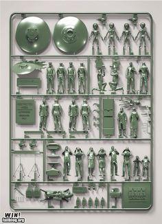 Conspiracy model kit