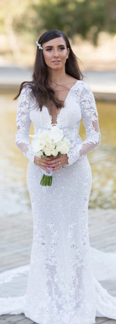 Stunning #BERTA bride Zohar in style 17-135
