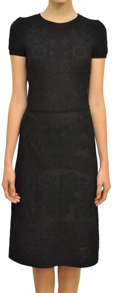 Jacquard Dress by Valentino, stunning detail