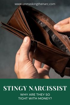 Why is a Narcissist Stingy with Money? | Unmasking the Narc Investing Money, Real Estate Investing, Saving Money, Make Money From Home, Way To Make Money, Make Money Online, Ask For A Raise, Starting Your Own Business, How To Manifest