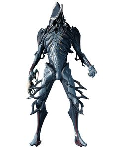 NEKROS is the Necromancer of Warframes. Master of the dark arts, he toys with the souls of his enemies giving them no rest after death.