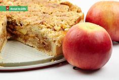 Szarlotka z polewą migdałowo-orzechową Palce Lizać Page 2 Pie Pastry Recipe, Pastry Recipes, Cooking Recipes, Apple Crumb Pie, Greek Desserts, Cookie Pie, Crumble Topping, Cake Bars, Sweets