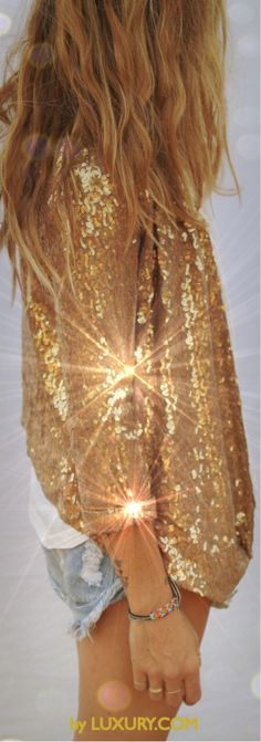 Sparkles, sequins & Shimmer by LUXURY.COM