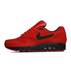 half off 1a65c d34b1 Basket Nike Air Max 1 Pimento 512033-610 Running Homme ShoemaniaQ Museum  Chaussures En Ligne