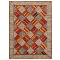 Persischer Kelim Collage - Vintage-Teppiche von Kibek