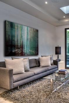 Tree Rays Aluminum Wall Art