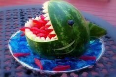 Shark-Inspired Snacks for Shark Week