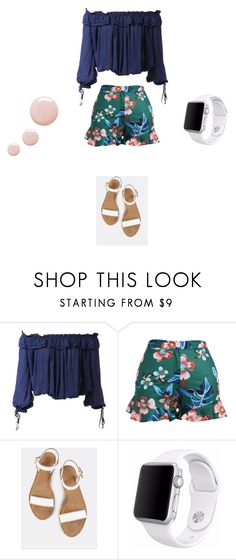 """""""🍏"""" by kay22-xoxo ❤ liked on Polyvore featuring Dsquared2, Apple and Topshop"""