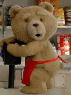 Tedmovie Teddy GIF - Tedmovie Teddy Bear - Discover & Share GIFs