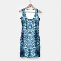 Elegant Blue Frost Sparkle Simple Dress 3, Live Heroes Simple Dresses, Summer Dresses, Fit Women, Athletic Tank Tops, Women's Fashion, Elegant, Live, Stylish, Cyber