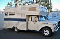 15 Unique Campers You've Ever Seen - Camper Life Car Camper, Camper Caravan, Camper Life, Camper Trailers, Cabover Camper, Rv Life, Travel Trailers, Vintage Rv, Vintage Trailers