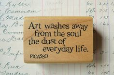 Picasso Art Quote by VintageJoysAndJewels