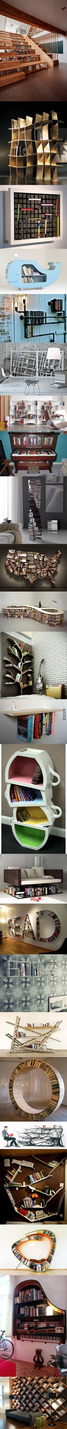 24 Sexy Bookshelves For Your Literature To Make Love To