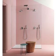 rose quartz bathroom