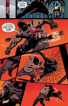 Black Widow #6 (2016)  written by Chris Samnee & Mark Waid art by Chris Samnee & Matthew Wilson