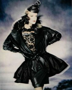 1982 - Claude Montana pour Ideal Cuir by Palolo Roversi
