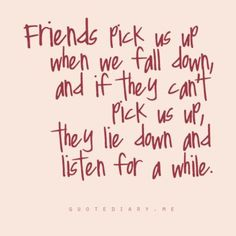 So blessed to have amazing friends that are always willing to listen