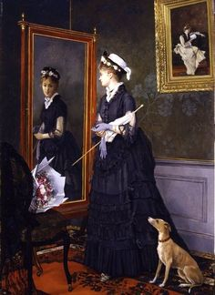Camille Leopold Cabaillot Lassalle ~ Reflections ~ French: 1839-1888