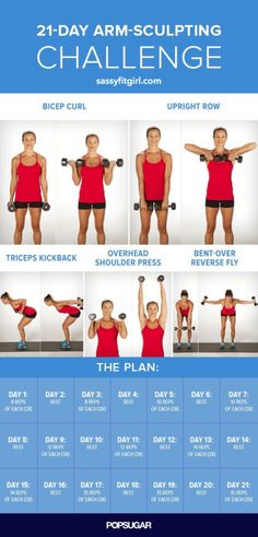 Arm Workout Challenge for Women to Lose Arm Fat If you're wondering how to lose arm fat fast?, give this 30 day arm workout challenge a go. Your arms are an important part of your body. In fact, there is no…Read more → Body Fitness, Fitness Diet, Health Fitness, Workout Fitness, Fat Workout, Workout Schedule, Mens Fitness, Workout Plans, Fitness Weightloss