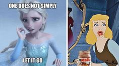 These Disney memes are just perfect because they encompass all the traits of a great meme. Disney characters are almost universally recognizable. This means