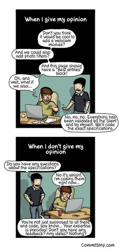 The coder's opinion paradox