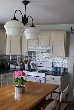 Love this kitchen, especially the backsplash!