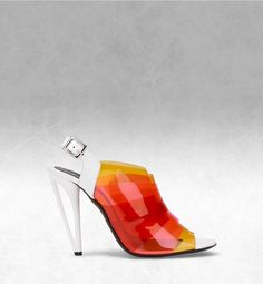 Fendi - IRIDIA Layered sandal