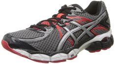 ASICS Men's Gel-Flux 2 Running Shoe,Carbon/Lightning/Red