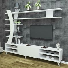How and where to make a modern TV cabinet design? Modern Tv Cabinet, Modern Tv Wall Units, Tv Cabinet Design, Tv Wall Design, Tv Unit Decor, Tv Wall Decor, Tv Wanddekor, Living Room Tv Unit Designs, Tv Unit Furniture