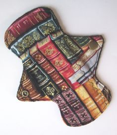 Cloth Menstrual Pad - Jane Eyre and Madame Bovary