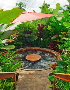 Rain forest jacuzzi. #CostaRica