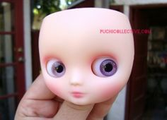 how to adjust Blythes eyes.... All you need is some thin masking tape and a nail file!