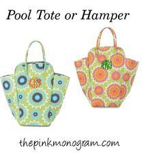 """College Hamper or Pool Tote"" by thepinkmonogram on Polyvore"