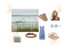 """""""•Walk on the beach•"""" by cheerluver-101 ❤ liked on Polyvore featuring self-portrait, Accessorize, FOSSIL and Billabong"""