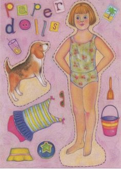 paper dolls:  where did they go to?  They're great for plane or road trips for young girls