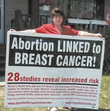 """Ask yourself why the incidence of cancer climbed 40% in the last quarter of the 20th Century (since Roe v. Wade legalized abortion in the United States in 1973), while the incidence for all other cancers has either remained the same or declined. [""""Breast Cancer Numbers Up, But US Cancer Deaths Drop,"""" Reuters, June 5, 2001]"""