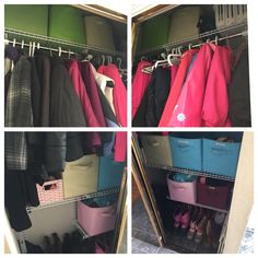 Front hall closet after!