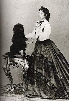 Empress Elisabeth of Austria, 1864.