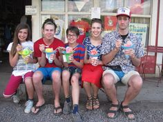 Life: Aoki's shave ice in Oahu, Hawaii. My favorite flavor is the volcano.