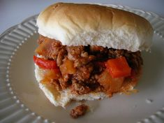 Ground Turkey Sloppy Joes {Rachael Ray Style} Six . Sloppy Joes Recipe Only 3 Ingredients! Eating On A Dime. One Pot Homemade Sloppy Joes Recipe Foodiecrush Com. Home and Family Healthy Sloppy Joe Recipe, Best Sloppy Joe Recipe, Healthy Sloppy Joes, Sloppy Joes Recipe, Good Healthy Recipes, Great Recipes, Healthy Meals, Favorite Recipes, Healthy Food