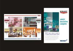 Kraft & Neoset brochures - design Victor Calomfir Brochures, Brochure Design, Portfolio Design, Flyers, Graphic Design, Portfolio Design Layouts, Flyer Design, Ruffles, Leaflet Design