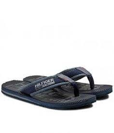 Slapi Barbati Tommy Hilfiger Tommy Hilfiger, Flip Flops, Sandals, Men, Shoes, Fashion, Moda, Shoes Sandals, Zapatos
