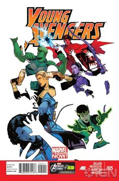 Young Avengers #5 Preview - IGN