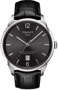 Tissot Watch Chemin des Tourelles Gents #basel-15 #bezel-fixed #bracelet-strap-leather #brand-tissot #case-depth-10-89mm #case-material-steel #case-width-42mm #date-yes #delivery-timescale-call-us #dial-colour-silver #gender-mens #luxury #movement-automatic #new-product-yes #official-stockist-for-tissot-watches #packaging-tissot-watch-packaging #style-dress #subcat-t-classic #supplier-model-no-t0994071603700 #warranty-tissot-official-2-year-guarantee #water-resistant-50m